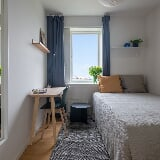 Foto Bedroom for let for long stay in 4-room...