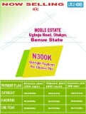 Photo Mixed Use Land for sale Ugboju Road, Oturkpo Benue
