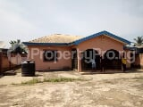 Photo A 4bedroom bungalow on a plot of land
