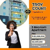 Photo 3 bedroom apartment unit for sale in aguda...