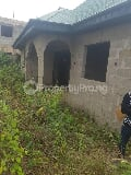 Photo Roofed Uncompleted Bungalow on Land size 60 by...